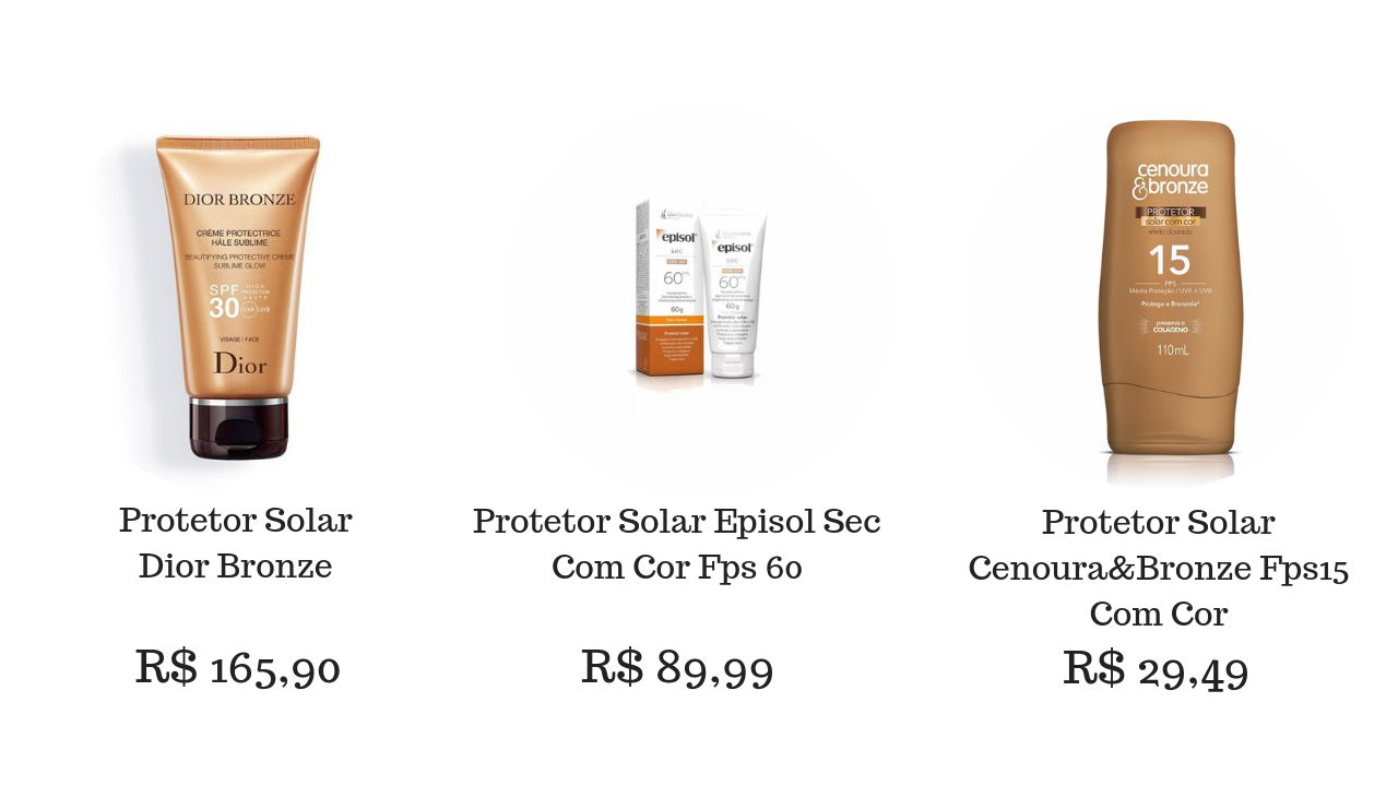 Bronzeador Filtro Solar
