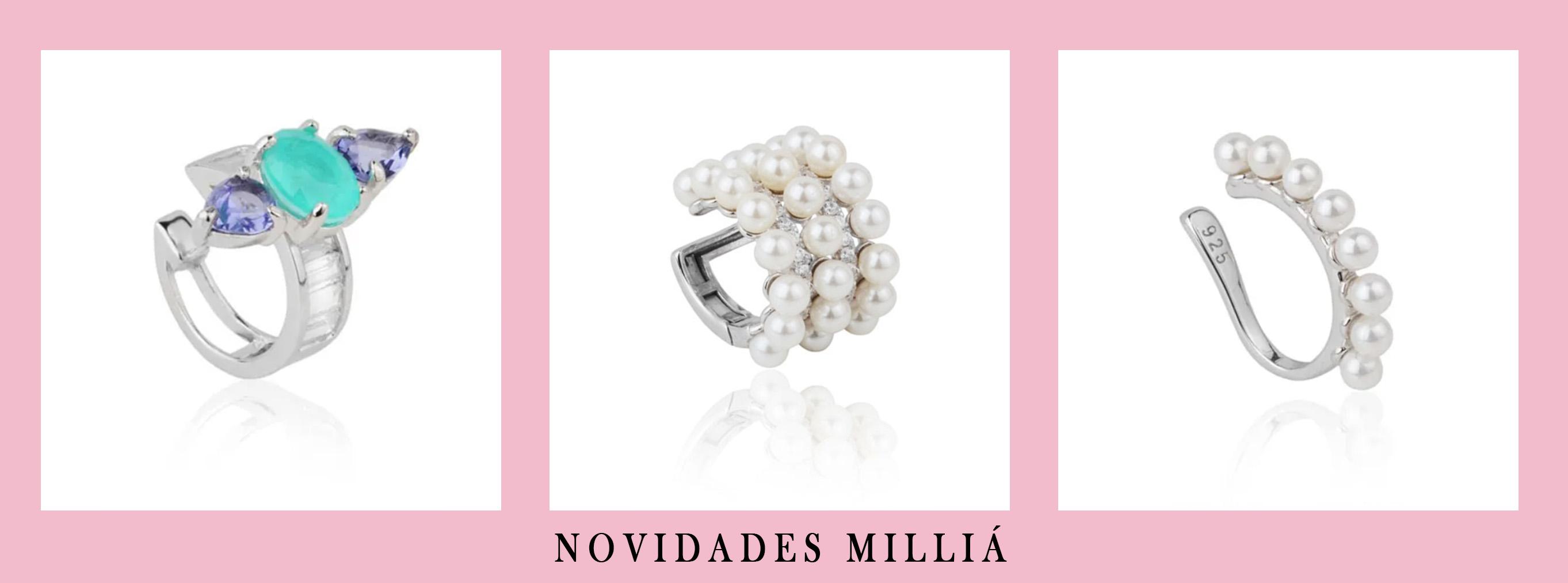 novidades de piercings da Milliá