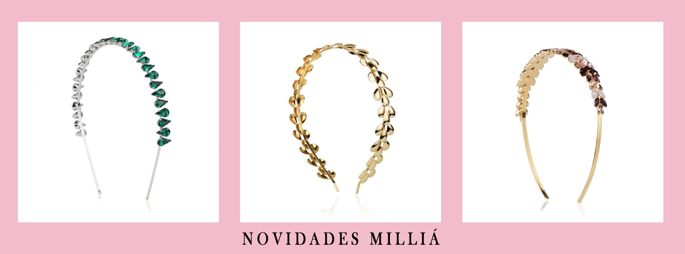 Novidades no site da Milliá