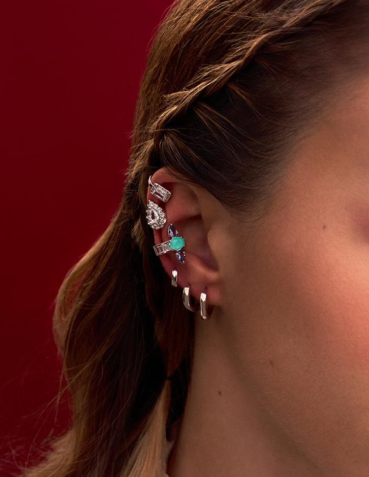 piercing colorido Milliá